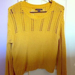 American Eagle Cable-Knit Sweater